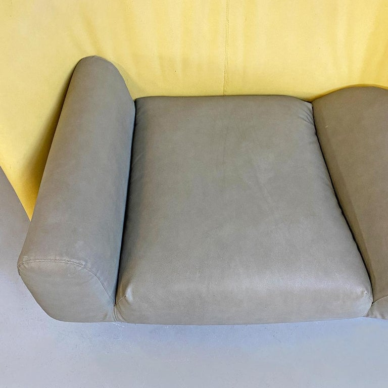 Italian Modern Chaise Lounge Mod. Torso by Paolo Deganello for Cassina, 1980s For Sale 5