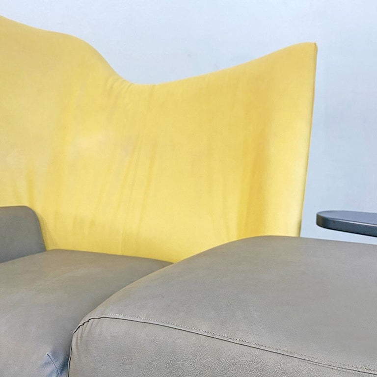 Italian Modern Chaise Lounge Mod. Torso by Paolo Deganello for Cassina, 1980s For Sale 6