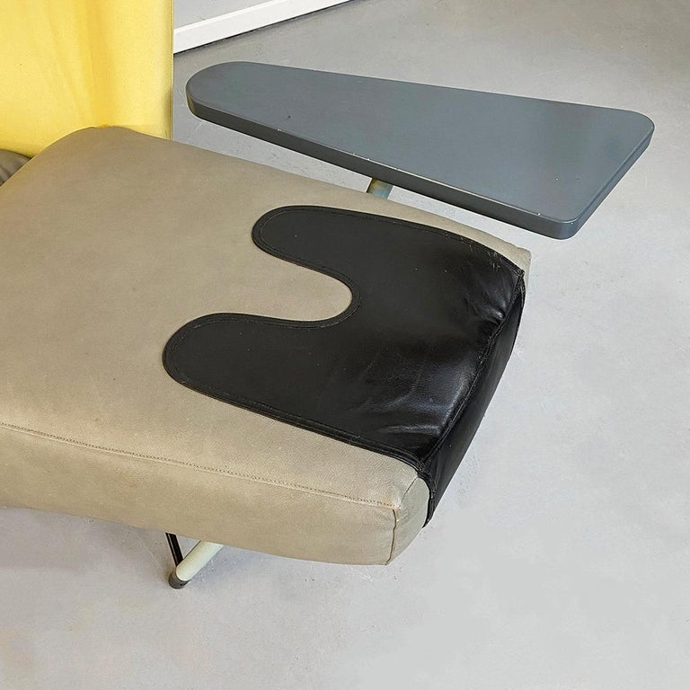 Italian Modern Chaise Lounge Mod. Torso by Paolo Deganello for Cassina, 1980s For Sale 7