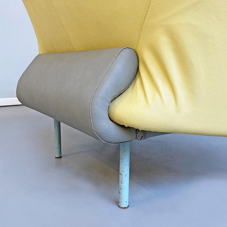 Italian Modern Chaise Lounge Mod. Torso by Paolo Deganello for Cassina, 1980s For Sale 8