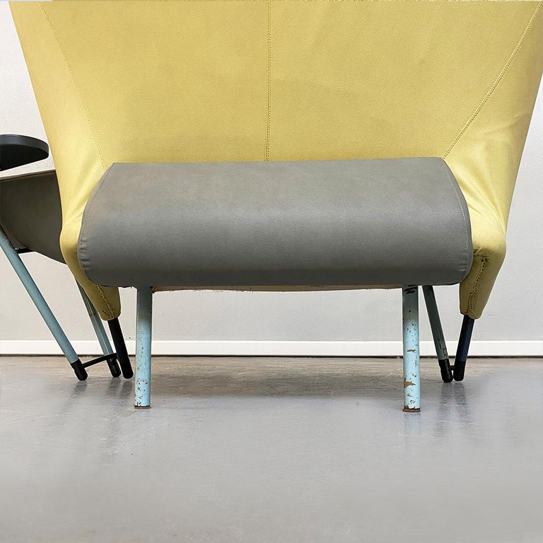 Italian Modern Chaise Lounge Mod. Torso by Paolo Deganello for Cassina, 1980s For Sale 9