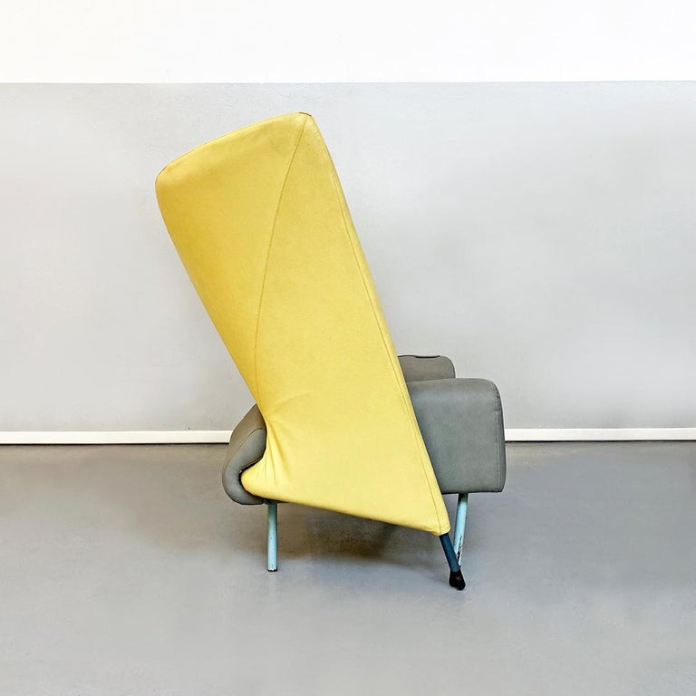 Late 20th Century Italian Modern Chaise Lounge Mod. Torso by Paolo Deganello for Cassina, 1980s For Sale