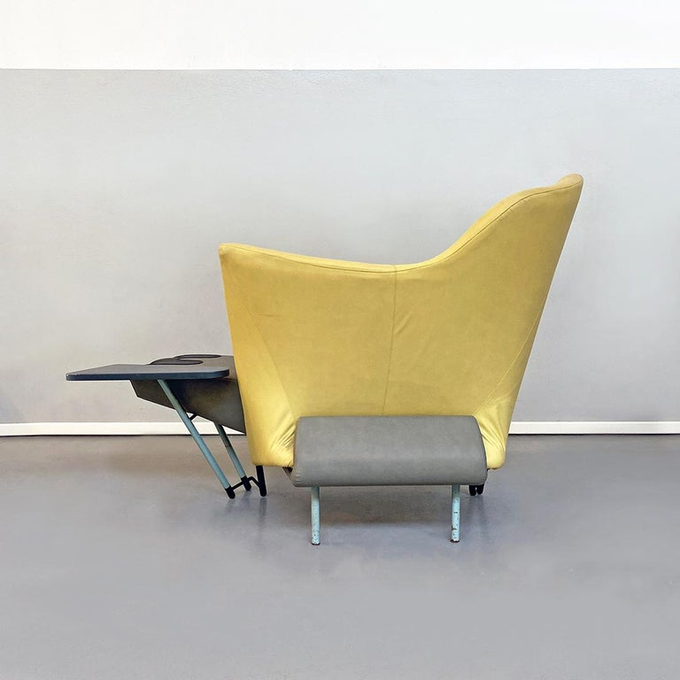 Italian Modern Chaise Lounge Mod. Torso by Paolo Deganello for Cassina, 1980s For Sale 1