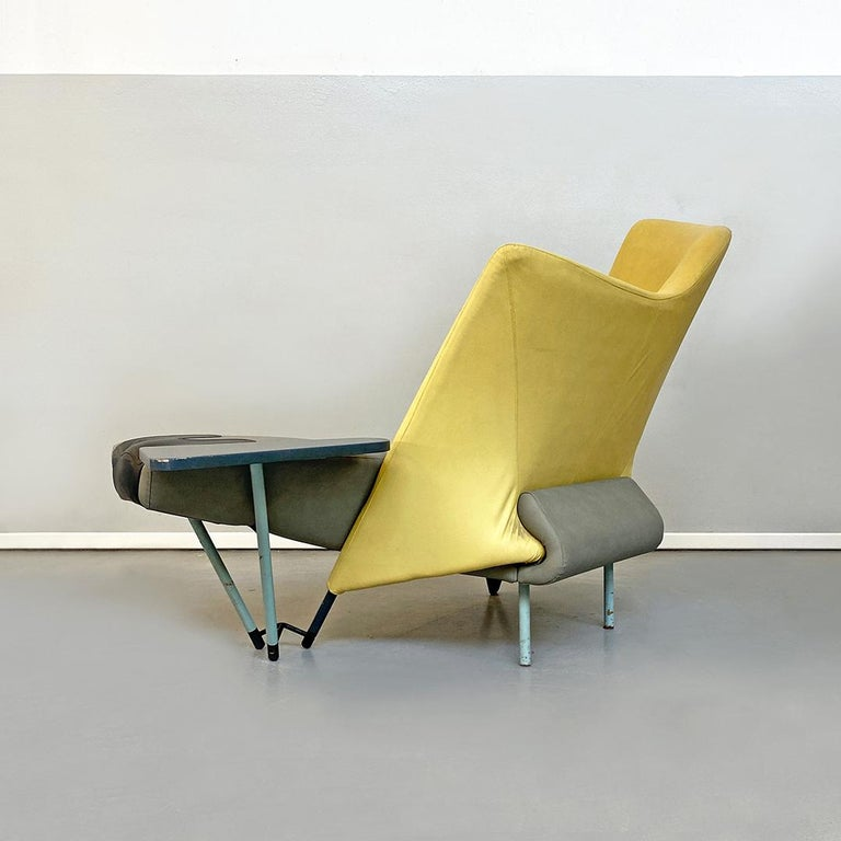 Italian Modern Chaise Lounge Mod. Torso by Paolo Deganello for Cassina, 1980s For Sale 2