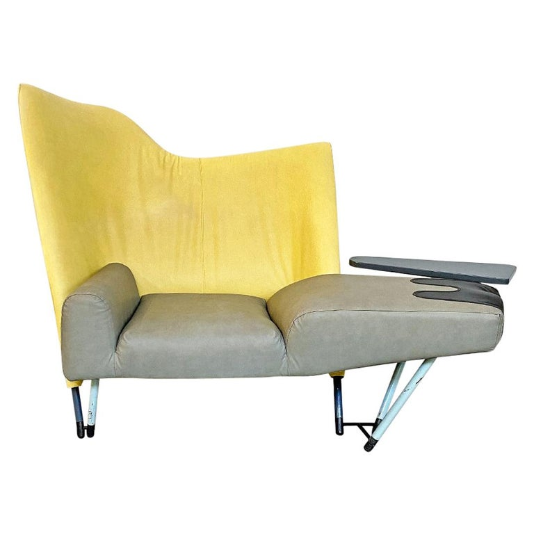 Italian Modern Chaise Lounge Mod. Torso by Paolo Deganello for Cassina, 1980s For Sale