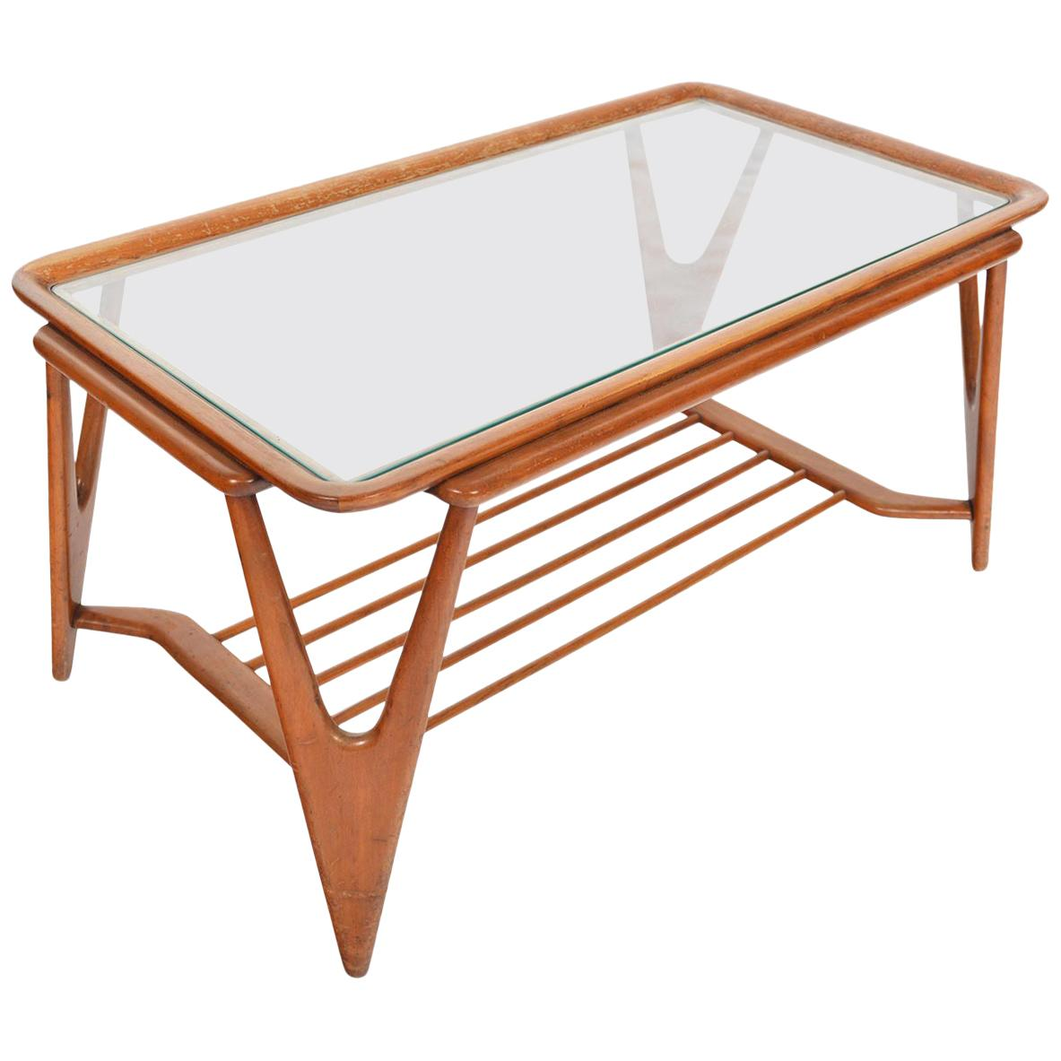 Italian Modern Coffee Table by Cesare Lacca for Cassina