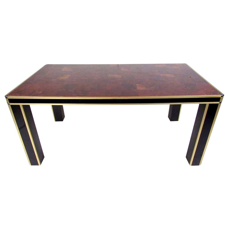 Italian Modern Conference or Dining Table For Sale