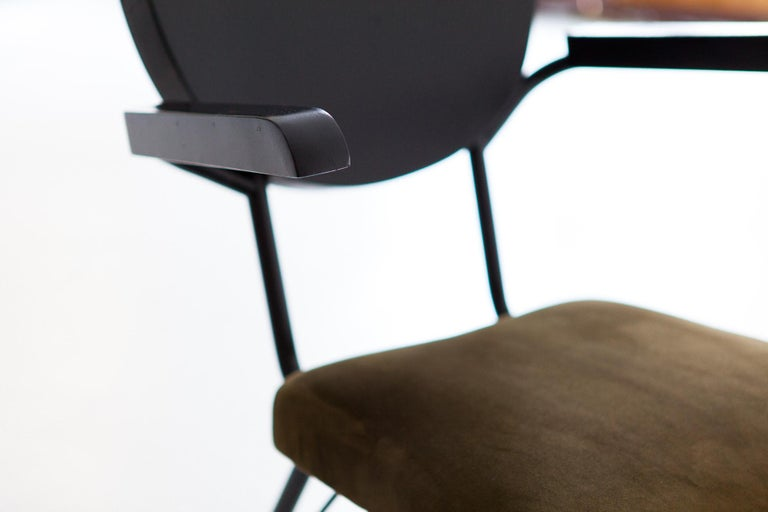 Italian Modern Dining Armchairs, 1950s For Sale 3