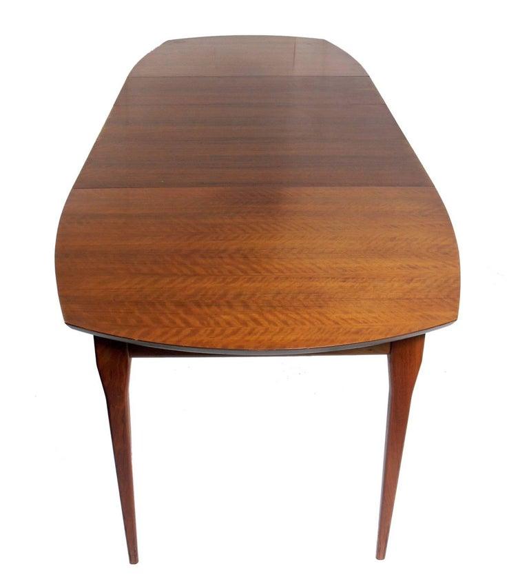 American Italian Modern Dining Table by Bertha Schaefer For Sale