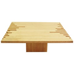 Italian Modern Low Table By Giovanni Michelucci - 1960