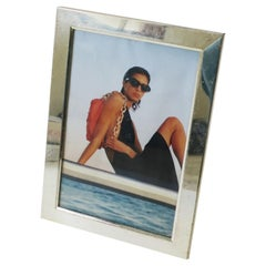 Italian Modern Minimalist Silver Picture Frame