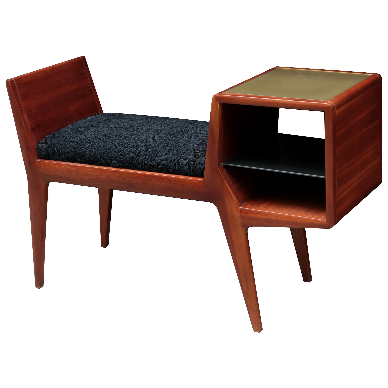 Italian Modernist Bench/Table
