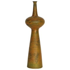Modernist Ceramic Vase by Alvino Bagni - Raymor, Italy