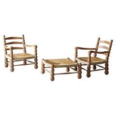 Wood Lounge Chairs