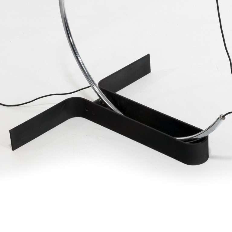 Italian Modernist Floor Lamp by Ennio Chiggio for Lumenform In Good Condition For Sale In London, GB