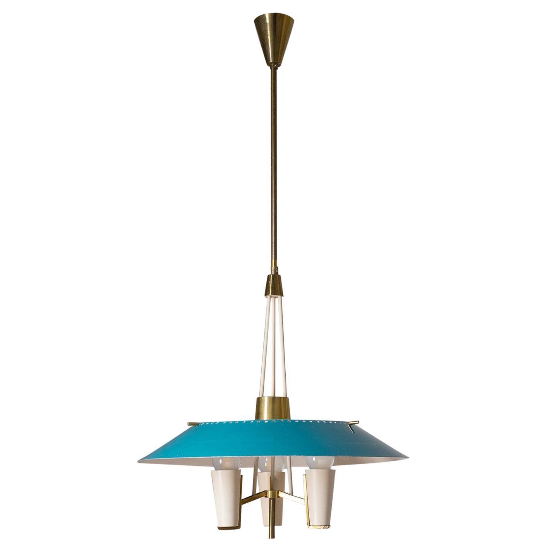 Italian Modernist Lantern, 1950s
