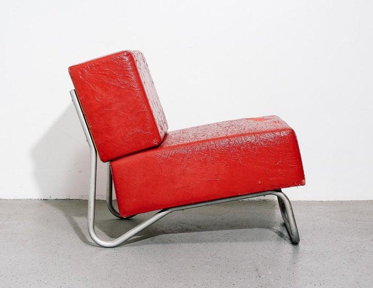 Italian Modernist Lounge Chairs 3