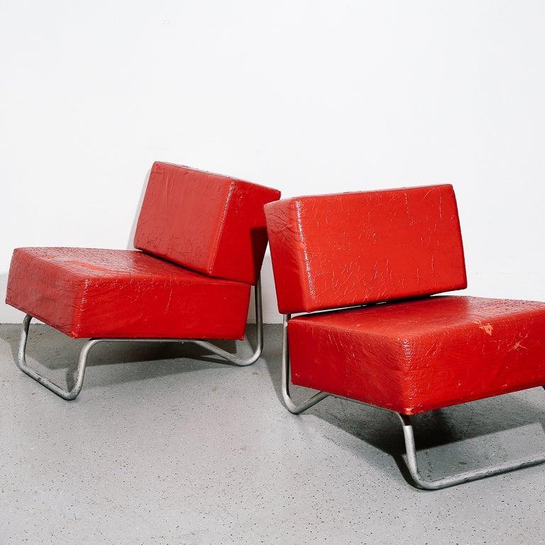 Italian Modernist Lounge Chairs 6