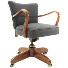 Italian Modernist Office Chair, 1940s