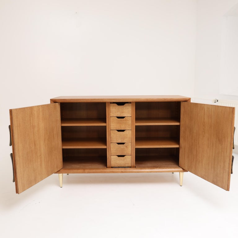 Late 20th Century Italian Modernist Two-Door Cabinet