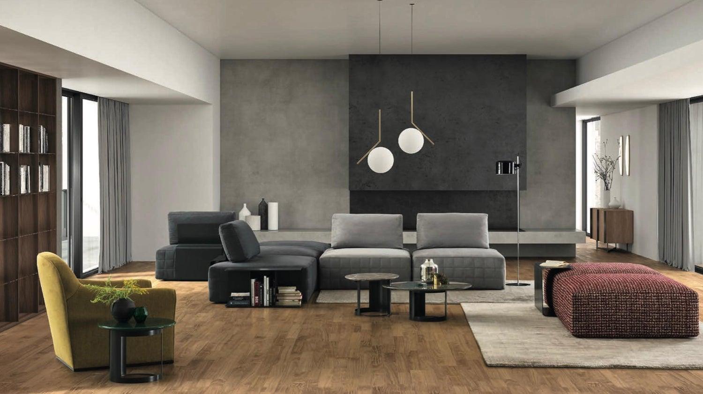 Italian Modular Sectional Sofa, Modern Design Made in Italy
