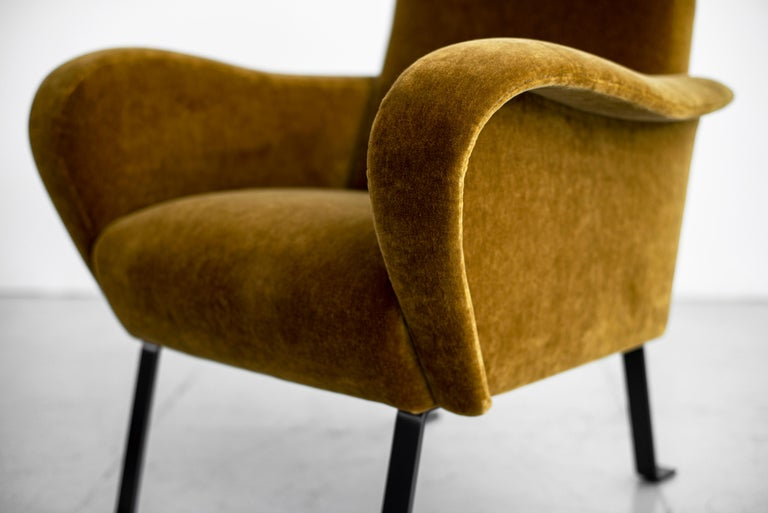 Italian Mohair Chairs For Sale 6