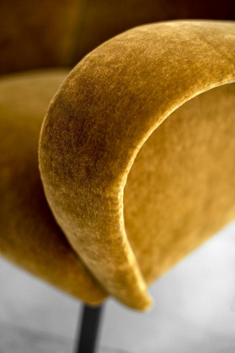 Italian Mohair Chairs For Sale 7