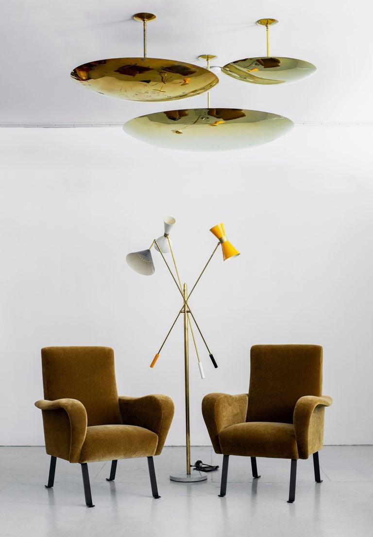 Italian Mohair Chairs For Sale 1