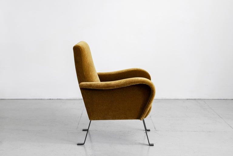 Italian Mohair Chairs For Sale 3