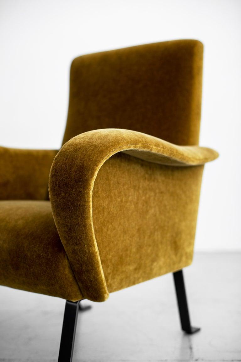 Italian Mohair Chairs For Sale 5