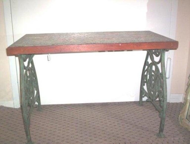20th Century Italian Mosaic Top Table, circa 1920s For Sale