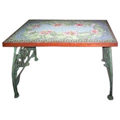 Italian Mosaic Top Table, circa 1920s