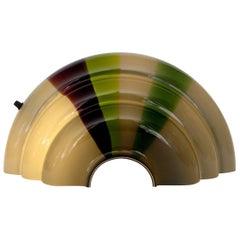 Italian Multi-Color Blown Glass Table Lamp