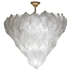 Italienische Muranoglas-Kronleuchter, 1970er Jahre