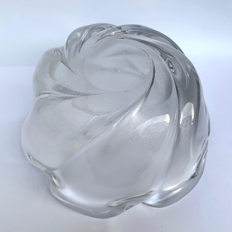 Italian Murano Glass Bowl Centerpiece, Italy, 1950s For Sale 7