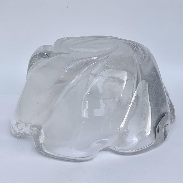 Italian Murano Glass Bowl Centerpiece, Italy, 1950s For Sale 8