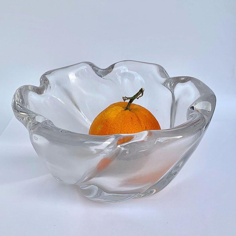 Italian Murano Glass Bowl Centerpiece, Italy, 1950s For Sale 9