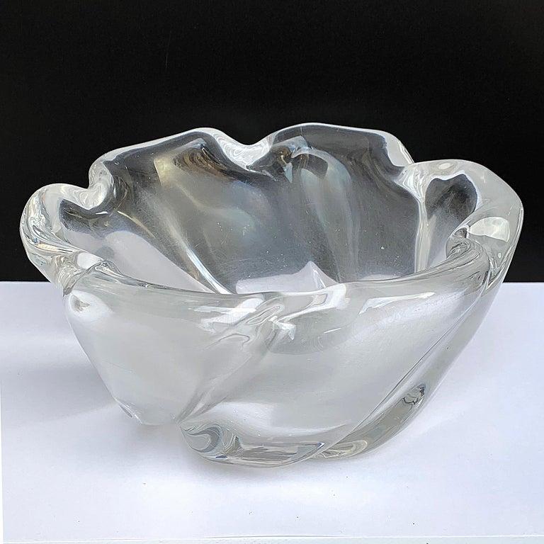 Italian Murano Glass Bowl Centerpiece, Italy, 1950s For Sale 2