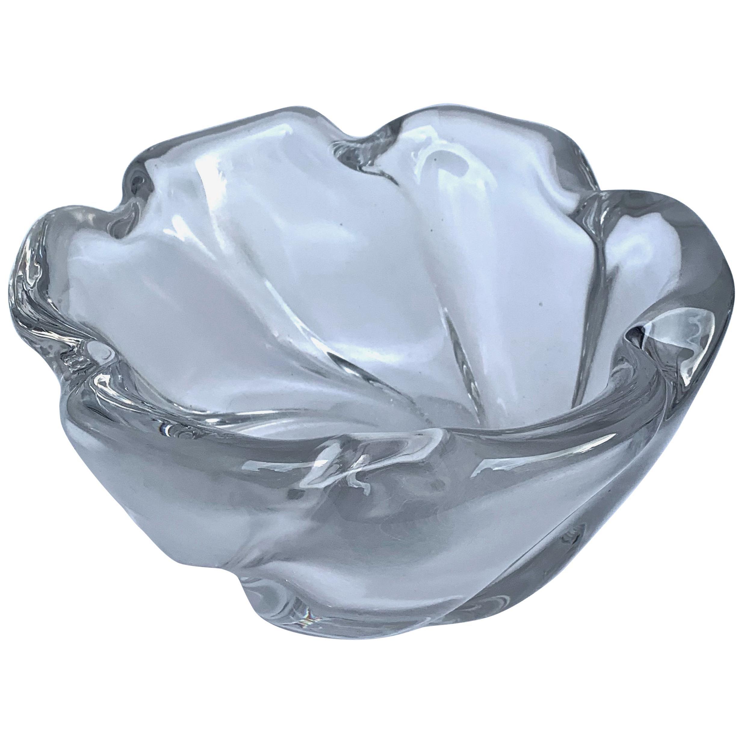 Italian Murano Glass Bowl Centerpiece, Italy, 1950s
