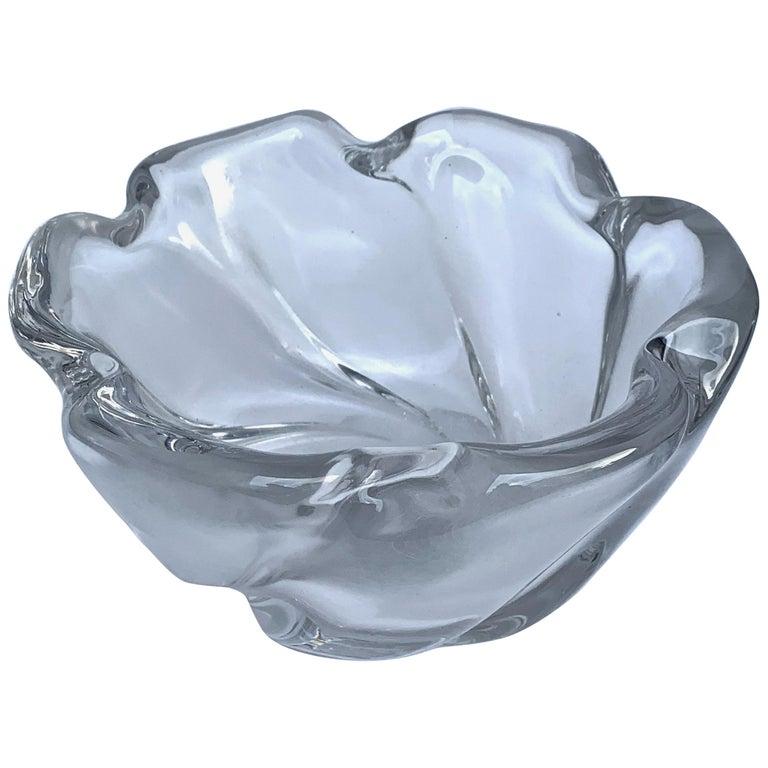 Italian Murano Glass Bowl Centerpiece, Italy, 1950s For Sale