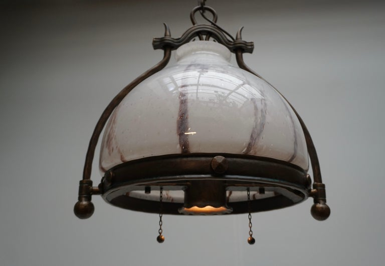 Italian Murano Glass Chandelier For Sale 6