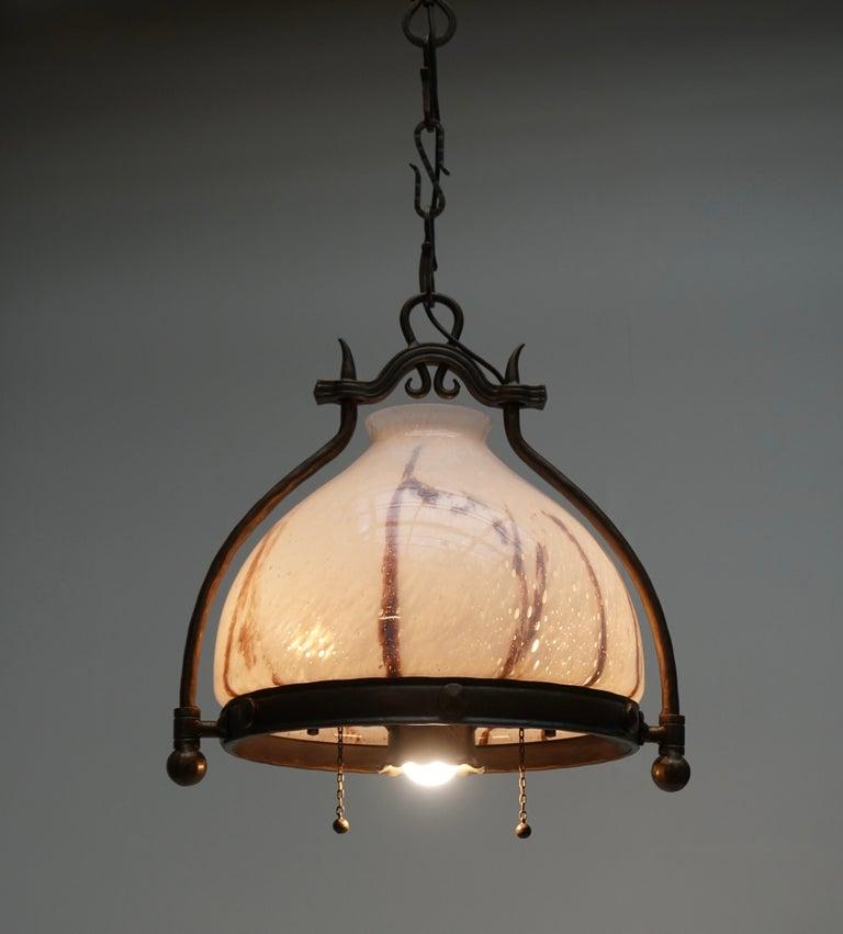 Italian Murano Glass Chandelier For Sale 7