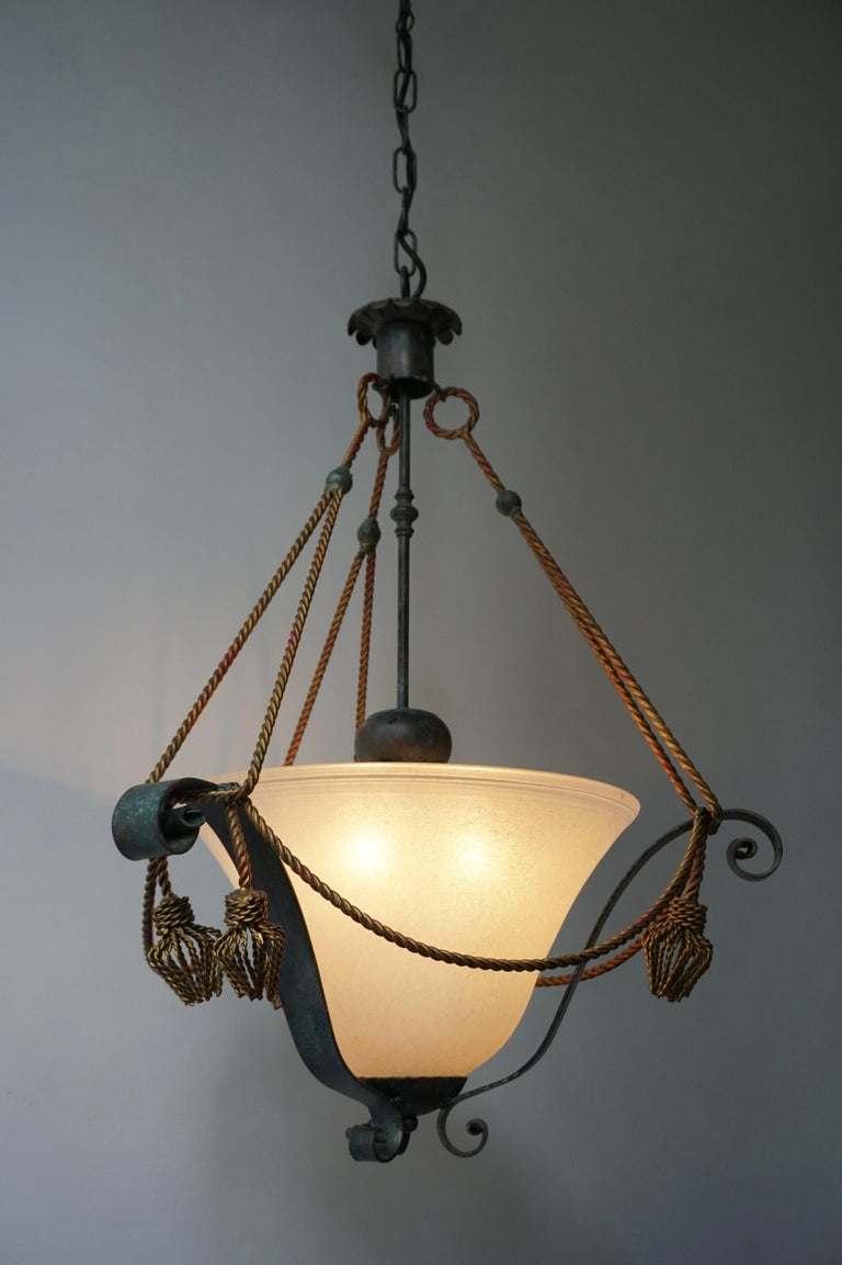 Italian Murano Glass Chandelier In Good Condition For Sale In Antwerp, BE
