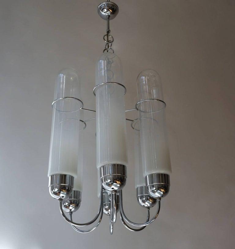 20th Century Italian Murano Glass Chandelier For Sale