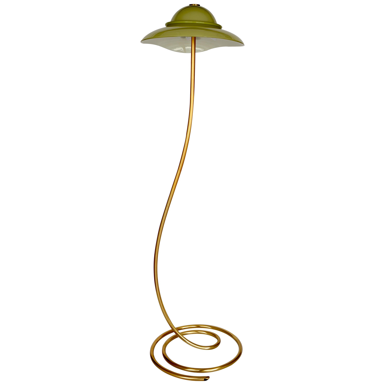 Italian Murano Glass Floor Lamp Romantica Model by La Murrina