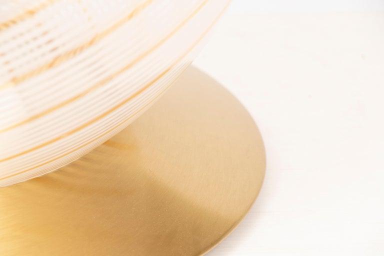 Italian Murano Glass Globe by Massimo and Lella Vignelli for Venini In Good Condition In London, GB