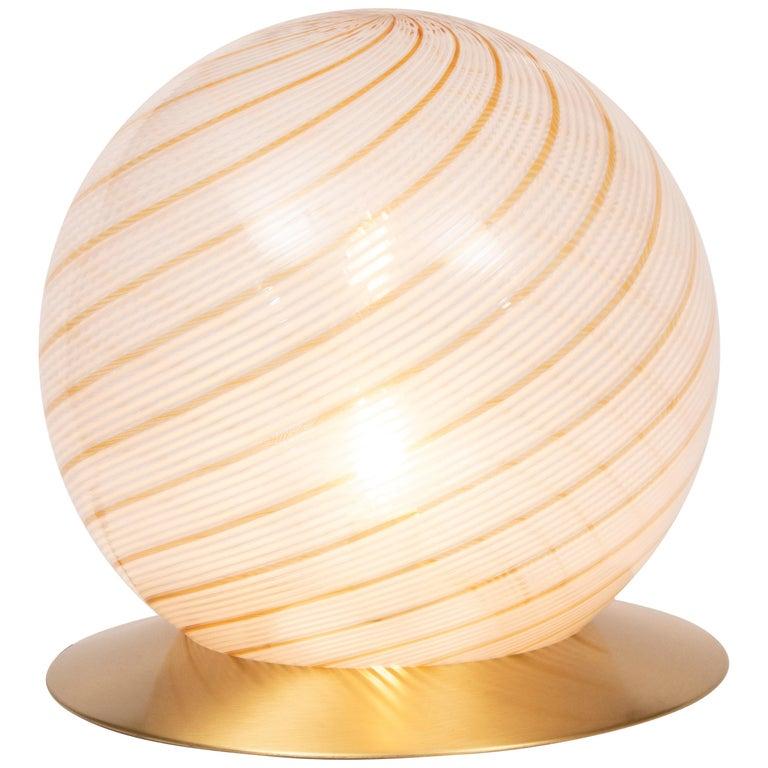 Italian Murano Glass Globe by Massimo and Lella Vignelli for Venini