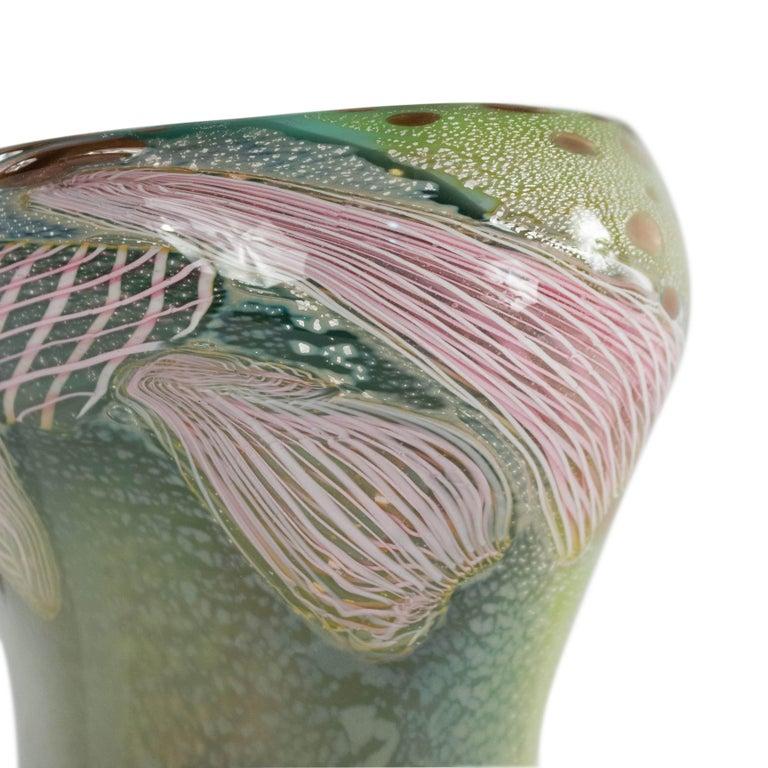 Italian Murano Glass Nichetto Table Lamp For Sale 2