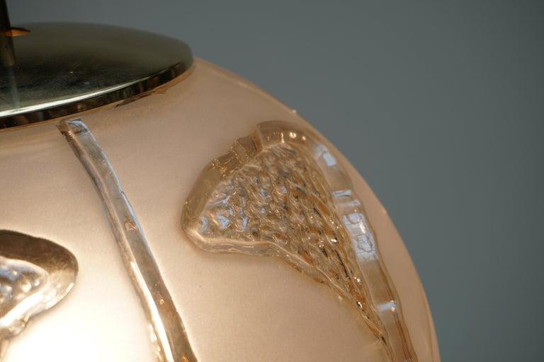 Italian Murano Glass Pendant Light For Sale 7