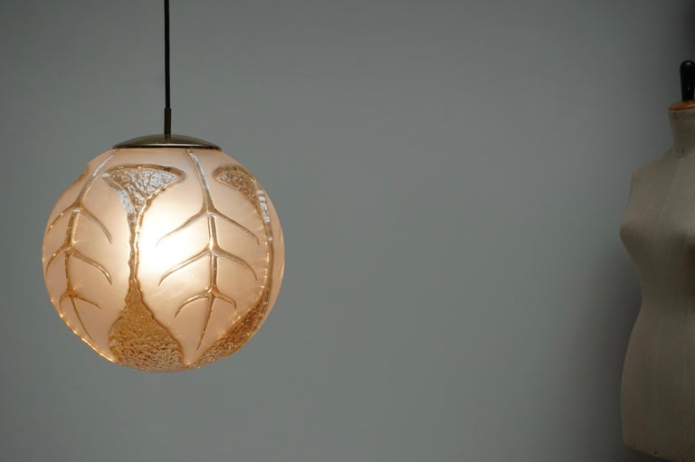 Italian Murano Glass Pendant Light In Good Condition For Sale In Antwerp, BE